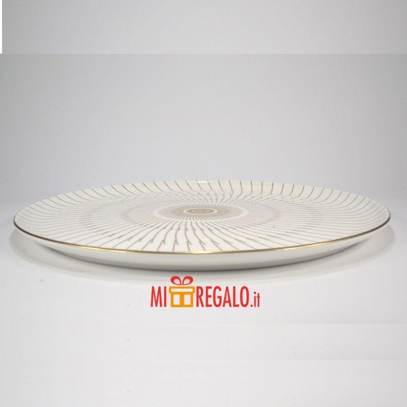 Oggettistica arredo casa moderna borbonese piatto torta con paletta - Oggettistica casa moderna ...