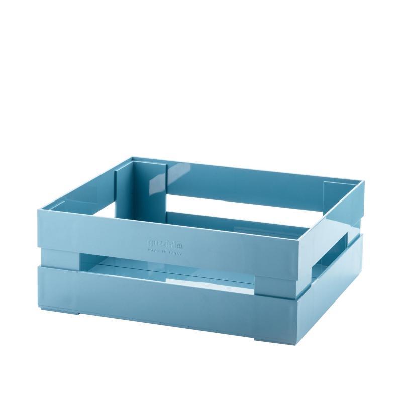 Cassetta Guzzini contenitore impilabile portatutto Tidy&Store My KitChen  azzurro grande