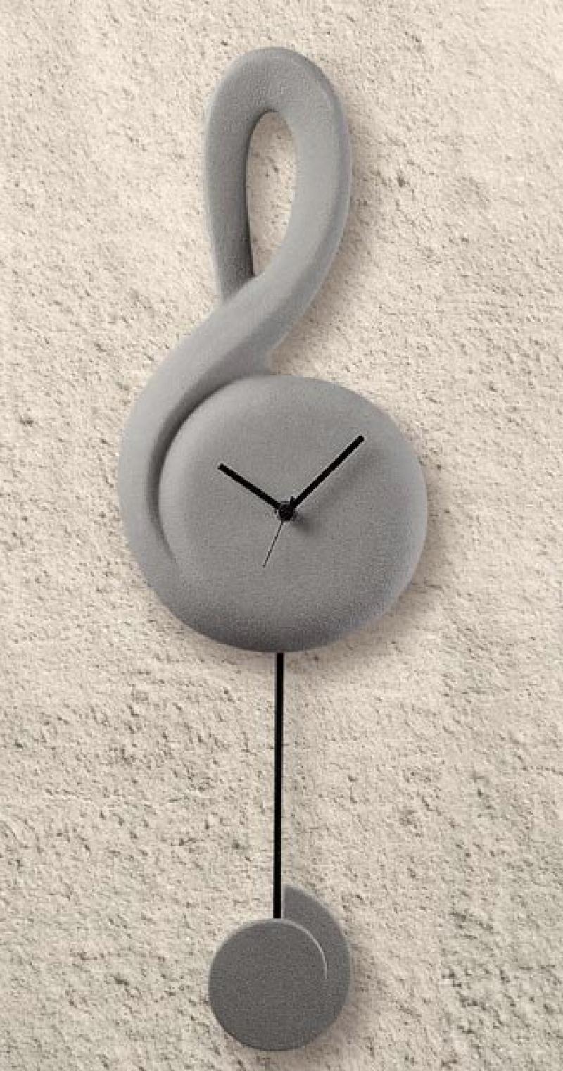 Orologio da muro moderno Chiave di Sol Lineasette Ceramiche