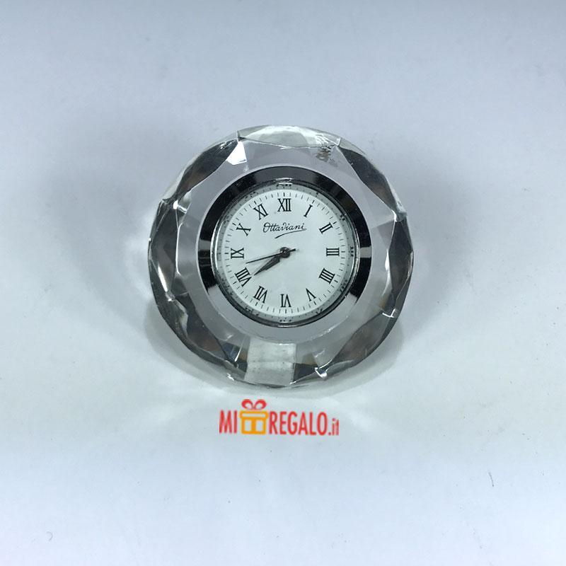 Orologi da parete e appoggio ottaviani orologio in cristallo - Ottaviani orologio da tavolo ...