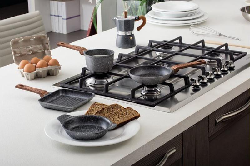 Pentole padelle e accessori cottura padella in pietra tognana antiaderente per induzione cm 26 - Pentole per cucine a induzione ...
