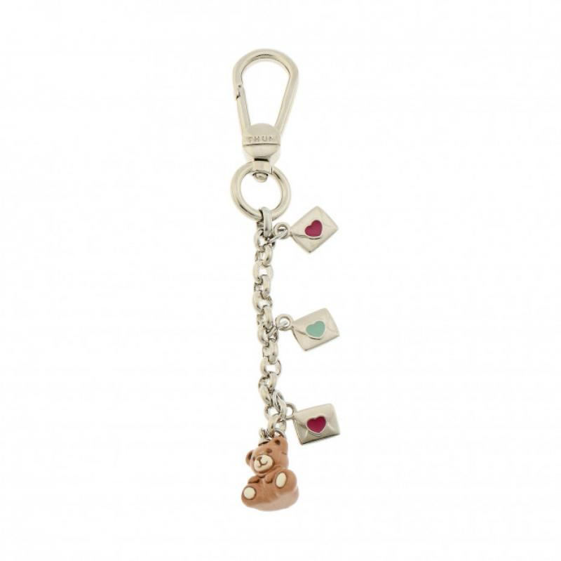 Portachiavi Thun Charm Message For You con teddy Accessori Donna Thun