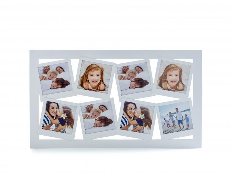 Evviva catalogo casa portafoto multiplo otto foto da parete for Portafoto verticale da parete