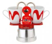TOP MOKA CAFFETTIERA MINI 2 TZ.  ROSSA Caffettiere